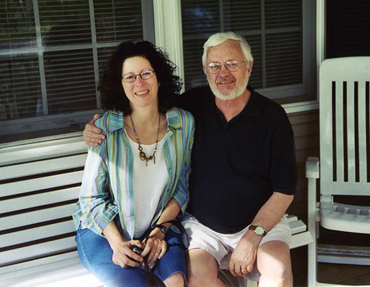 Ellen Esrock and Ned McClennen, Cape Cod 2004. Photocredit: Adrian Piper